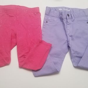 Cat & Jack Set of 2 Toddler Girl Pants